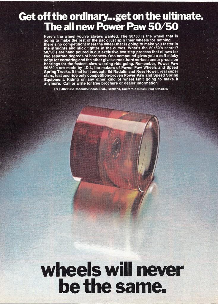POWER PAW AD RUSS-ED