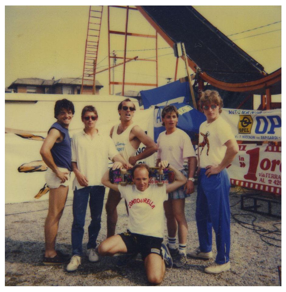 Acrobatic team 1986 Italy