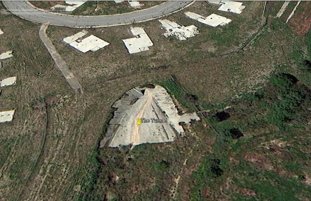 The Tunnel- Google Earth 3-7-2011