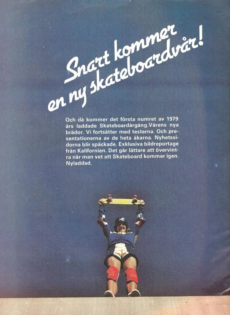+Sweden, Stockholm Skateboard Magazine Ad 8 Nr2