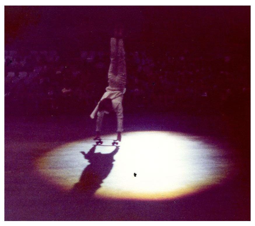 New York June 1976_Ed in the spot light